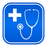 Doctor symbol. Vector clip art Royalty Free Stock Photography