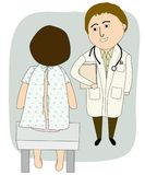 Doctor Talking to patient Royalty Free Stock Photo