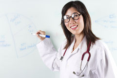 Doctor teaching Royalty Free Stock Photography