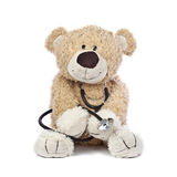 Doctor Teddy Bear Stock Photography