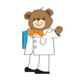 Doctor teddy bear Royalty Free Stock Photos
