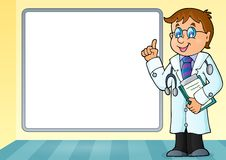 Doctor theme image 6 Royalty Free Stock Photography