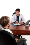 Doctor or therapist with child Stock Photo