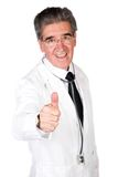 Doctor- thumbs up Royalty Free Stock Photos