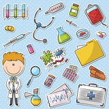 Doctor With Tools Royalty Free Stock Photos