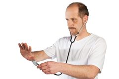 Doctor in training Stock Photos