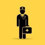 Doctor uniform vector icon Stock Photo