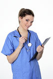 Doctor in uniforme Royalty Free Stock Photos
