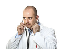 Doctor use  stethoscope Stock Photo