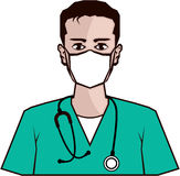 Doctor vector Stock Images