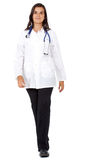 Doctor walking isolated Royalty Free Stock Image