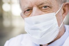 Doctor Wearing Mask Royalty Free Stock Photo