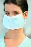 A doctor wearing a mask Stock Images