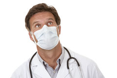 Doctor wearing a mask Royalty Free Stock Images