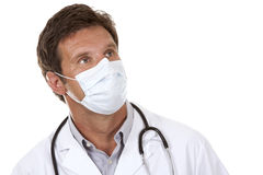 Doctor wearing a mask Stock Photography