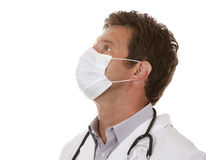 Doctor wearing a mask Royalty Free Stock Photography