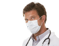 Doctor wearing a mask Stock Image
