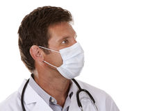 Doctor wearing a mask Royalty Free Stock Photos