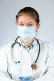 Doctor wearing mask Stock Image