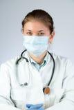 Doctor wearing mask Stock Image
