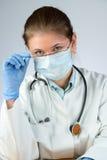Doctor wearing mask Royalty Free Stock Image