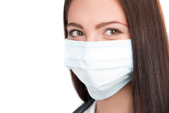 Doctor wearing surgical mask Royalty Free Stock Photo