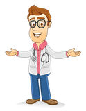 Doctor - Welcoming Royalty Free Stock Photography