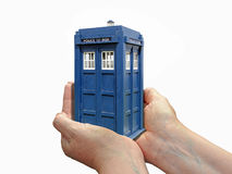 Doctor who assisting hands Royalty Free Stock Photography