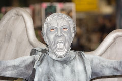 Doctor Who Weeping Angel Costume Stock Photography