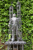 Doctor Willems statue, Hasselt stock photos