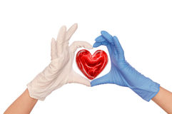 Doctor With Heart Stock Photos