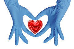 Doctor With Heart Royalty Free Stock Image