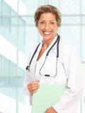 Doctor woman Stock Photo