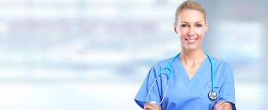 Doctor woman Royalty Free Stock Image
