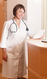 Doctor woman in the office Royalty Free Stock Images