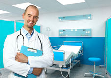 Doctor at work Royalty Free Stock Photo
