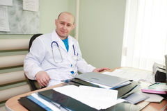 Doctor in work Royalty Free Stock Photography