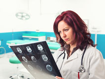 Doctor at work Royalty Free Stock Images
