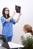 Doctor working Stock Images