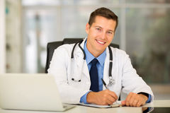 Doctor working office Royalty Free Stock Photo