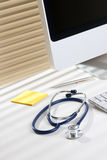 Doctor workplace Stock Photography