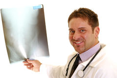 Doctor with X-ray Royalty Free Stock Photos