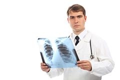 Doctor with x-ray Stock Photo