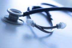Doctor& x27 ; stéthoscope médical de s Image stock