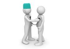 Doctor y paciente libre illustration