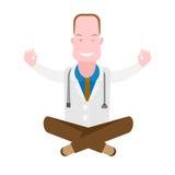 Doctor yoga Stock Photos