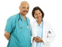 Doctores apuestos Fotografía de archivo