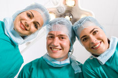 Doctores cómodos Imagen de archivo