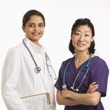 Doctores de las mujeres. Fotos de archivo