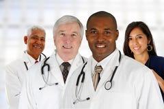 Doctores y enfermera Imagen de archivo
